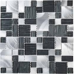 Mosaïque Alu / Verre - Puzzle