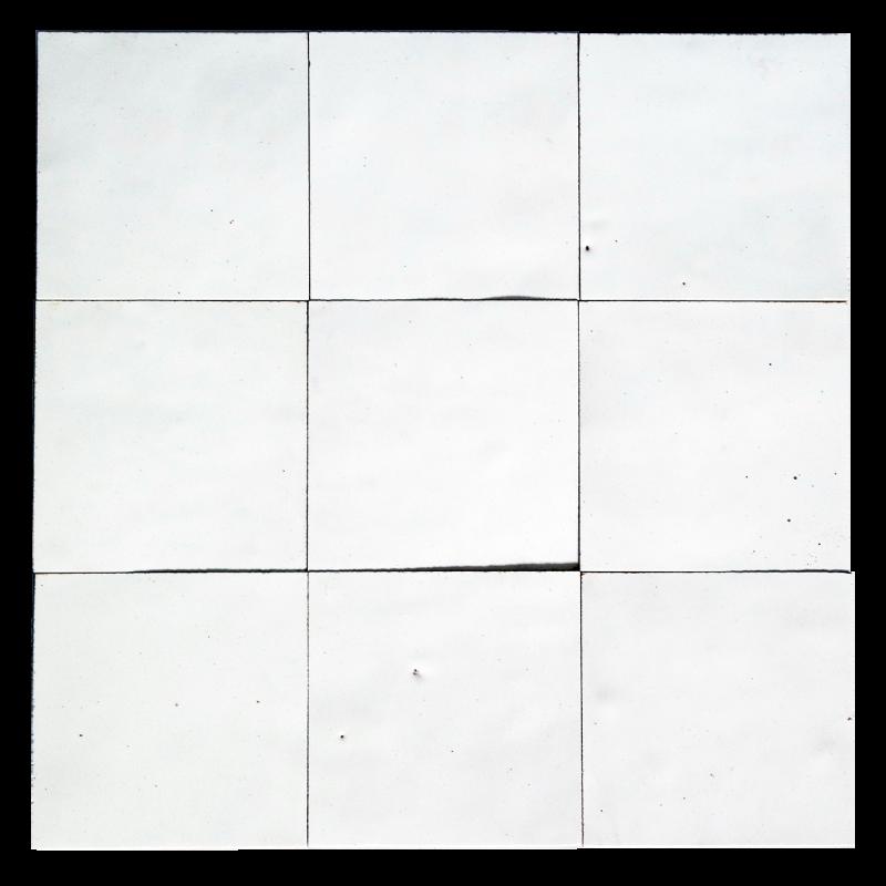 zellige blanc neige