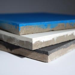 Mosaique carreaux de ciment noir