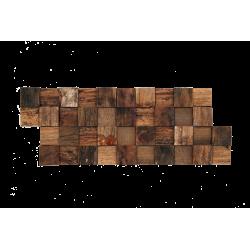 Parement mural bois brut en...